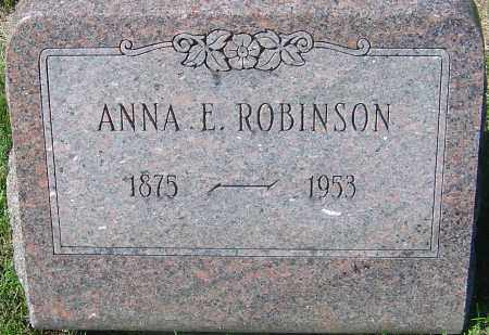 KING ROBINSON, ANNA ELIZABETH - Franklin County, Ohio | ANNA ELIZABETH KING ROBINSON - Ohio Gravestone Photos