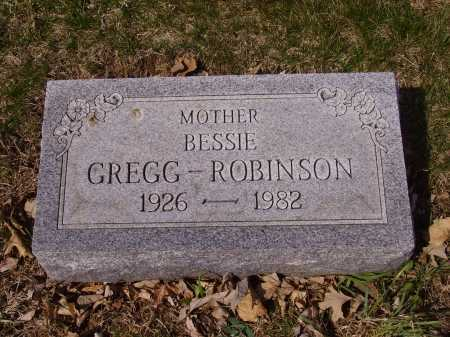 ROBINSON, BESSIE - Franklin County, Ohio | BESSIE ROBINSON - Ohio Gravestone Photos