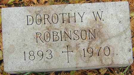 ROBINSON, DOROTHY - Franklin County, Ohio | DOROTHY ROBINSON - Ohio Gravestone Photos