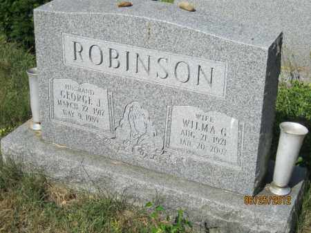 COFFEY ROBINSON, WILMA GERALDINE - Franklin County, Ohio | WILMA GERALDINE COFFEY ROBINSON - Ohio Gravestone Photos