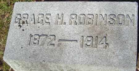 ROBINSON, GRACE H - Franklin County, Ohio | GRACE H ROBINSON - Ohio Gravestone Photos