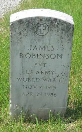 ROBINSON, JAMES - Franklin County, Ohio | JAMES ROBINSON - Ohio Gravestone Photos