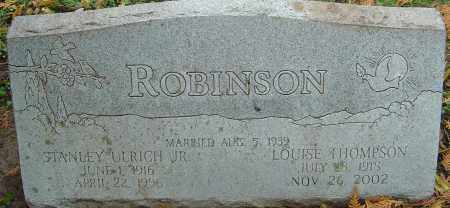 THOMPSON ROBINSON, LOUISE - Franklin County, Ohio | LOUISE THOMPSON ROBINSON - Ohio Gravestone Photos