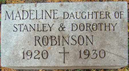 ROBINSON, MADELINE - Franklin County, Ohio | MADELINE ROBINSON - Ohio Gravestone Photos