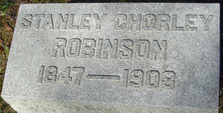 ROBINSON, STANLEY CHORLEY - Franklin County, Ohio | STANLEY CHORLEY ROBINSON - Ohio Gravestone Photos