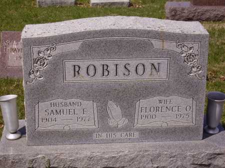 ROBISON, SAMUEL E. - Franklin County, Ohio | SAMUEL E. ROBISON - Ohio Gravestone Photos