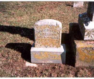 RODGERS, MARION KESIA - Franklin County, Ohio | MARION KESIA RODGERS - Ohio Gravestone Photos