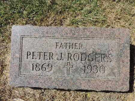 RODGERS, PETER J. - Franklin County, Ohio | PETER J. RODGERS - Ohio Gravestone Photos