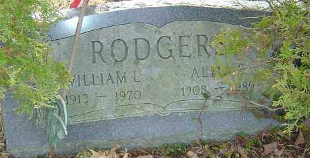 RODGERS, WILLIAM L - Franklin County, Ohio | WILLIAM L RODGERS - Ohio Gravestone Photos