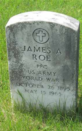 ROE, JAMES A. - Franklin County, Ohio | JAMES A. ROE - Ohio Gravestone Photos