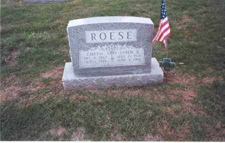 ROESE, EDITH - Franklin County, Ohio | EDITH ROESE - Ohio Gravestone Photos