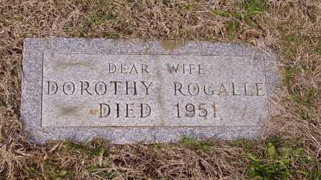 ROGALLE, DOROTHY - Franklin County, Ohio | DOROTHY ROGALLE - Ohio Gravestone Photos