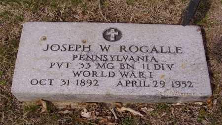 ROGALLE, JOSEPH W. - Franklin County, Ohio | JOSEPH W. ROGALLE - Ohio Gravestone Photos