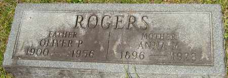 ROGERS, OLIVER PERRY - Franklin County, Ohio | OLIVER PERRY ROGERS - Ohio Gravestone Photos
