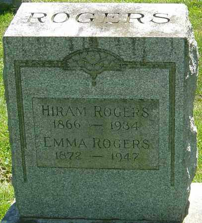 ROGERS, HIRAM - Franklin County, Ohio | HIRAM ROGERS - Ohio Gravestone Photos