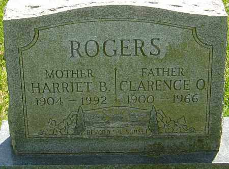 ROGERS, CLARENCE O - Franklin County, Ohio | CLARENCE O ROGERS - Ohio Gravestone Photos