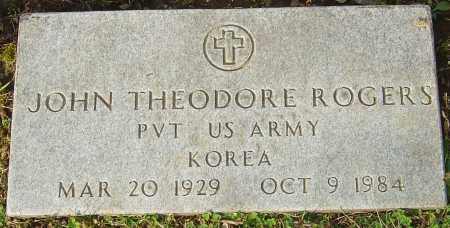 ROGERS, JOHN THEODORE - Franklin County, Ohio | JOHN THEODORE ROGERS - Ohio Gravestone Photos