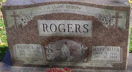 HUGHES ROGERS, MARY ELLEN - Franklin County, Ohio | MARY ELLEN HUGHES ROGERS - Ohio Gravestone Photos