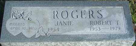 ROGERS, ROBERT T - Franklin County, Ohio | ROBERT T ROGERS - Ohio Gravestone Photos