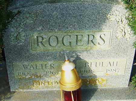 ROGERS, BEULAH - Franklin County, Ohio | BEULAH ROGERS - Ohio Gravestone Photos