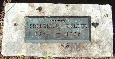 ROLLER, FREDERICK - Franklin County, Ohio | FREDERICK ROLLER - Ohio Gravestone Photos