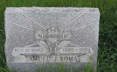ROMAS, SAMUEL J - Franklin County, Ohio | SAMUEL J ROMAS - Ohio Gravestone Photos