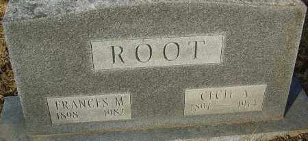 ROOT, FRANCES M - Franklin County, Ohio | FRANCES M ROOT - Ohio Gravestone Photos