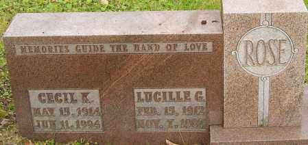 ROSE, LUCILLE - Franklin County, Ohio | LUCILLE ROSE - Ohio Gravestone Photos