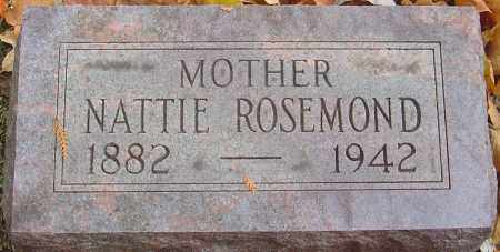 ROSEMOND, NATTIE - Franklin County, Ohio | NATTIE ROSEMOND - Ohio Gravestone Photos