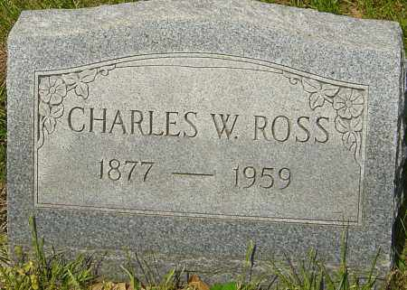 ROSS, CHARLES W - Franklin County, Ohio | CHARLES W ROSS - Ohio Gravestone Photos