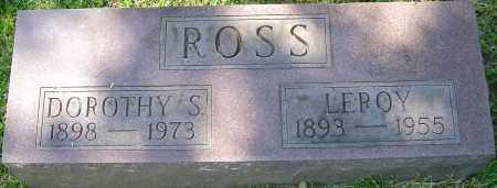 ROSS, DOROTHY S - Franklin County, Ohio | DOROTHY S ROSS - Ohio Gravestone Photos