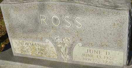 ROSS, NORMAN J - Franklin County, Ohio | NORMAN J ROSS - Ohio Gravestone Photos