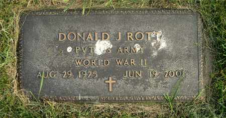 ROTT, DONALD J. - Franklin County, Ohio | DONALD J. ROTT - Ohio Gravestone Photos