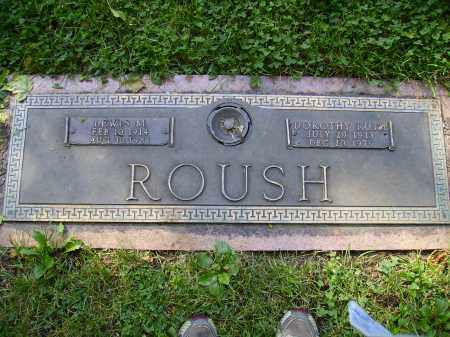 ROUSH, LEWIS M. - Franklin County, Ohio | LEWIS M. ROUSH - Ohio Gravestone Photos