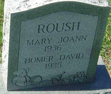 ROUSH, HOMER DAVID - Franklin County, Ohio | HOMER DAVID ROUSH - Ohio Gravestone Photos
