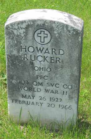 RUCKER, HOWARD - Franklin County, Ohio | HOWARD RUCKER - Ohio Gravestone Photos