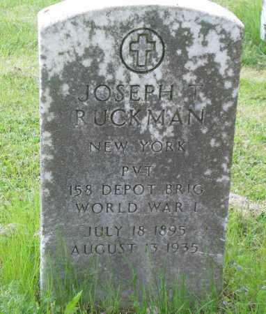 RUCKMAN, JOSEPH - Franklin County, Ohio | JOSEPH RUCKMAN - Ohio Gravestone Photos