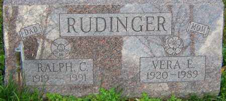RUDINGER, RALPH - Franklin County, Ohio | RALPH RUDINGER - Ohio Gravestone Photos