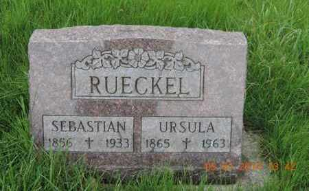 RUECKEL, SEBASTIAN - Franklin County, Ohio | SEBASTIAN RUECKEL - Ohio Gravestone Photos