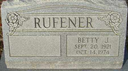 RUFENER, BETTY J - Franklin County, Ohio | BETTY J RUFENER - Ohio Gravestone Photos