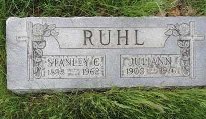 RUHL, STANLEY C - Franklin County, Ohio | STANLEY C RUHL - Ohio Gravestone Photos
