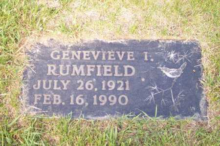 RUMFIELD, GENEVIEVE - Franklin County, Ohio | GENEVIEVE RUMFIELD - Ohio Gravestone Photos