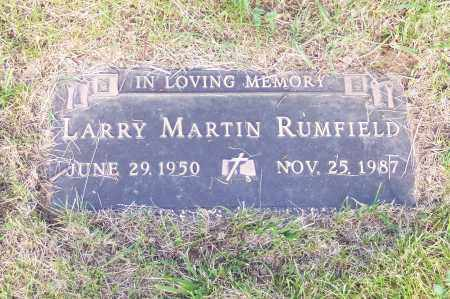 RUMFIELD, LARRY - Franklin County, Ohio | LARRY RUMFIELD - Ohio Gravestone Photos