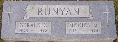 RUNYAN, GERALD - Franklin County, Ohio | GERALD RUNYAN - Ohio Gravestone Photos