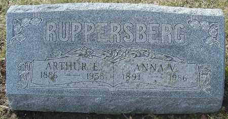 RUPPERSBERG, ARTHUR E - Franklin County, Ohio | ARTHUR E RUPPERSBERG - Ohio Gravestone Photos