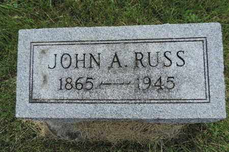 RUSS, JOHN A. - Franklin County, Ohio | JOHN A. RUSS - Ohio Gravestone Photos