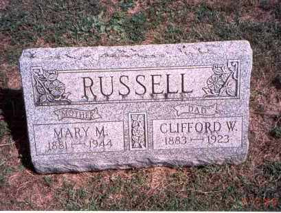 RUSSELL, CLIFFORD W. - Franklin County, Ohio | CLIFFORD W. RUSSELL - Ohio Gravestone Photos