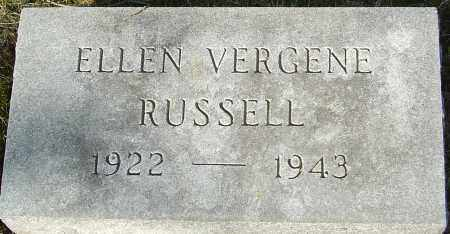 RUSSELL, ELLEN - Franklin County, Ohio | ELLEN RUSSELL - Ohio Gravestone Photos