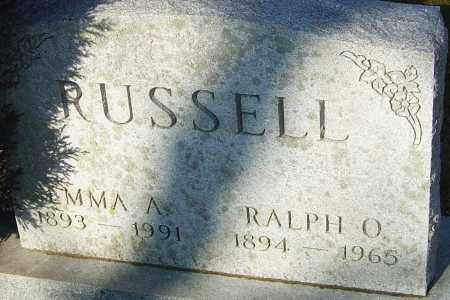 RUSSELL, EMMA A - Franklin County, Ohio | EMMA A RUSSELL - Ohio Gravestone Photos
