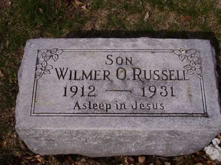 RUSSELL, WILMER O. - Franklin County, Ohio | WILMER O. RUSSELL - Ohio Gravestone Photos
